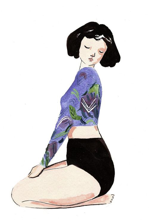 Artist Charlotte Mei