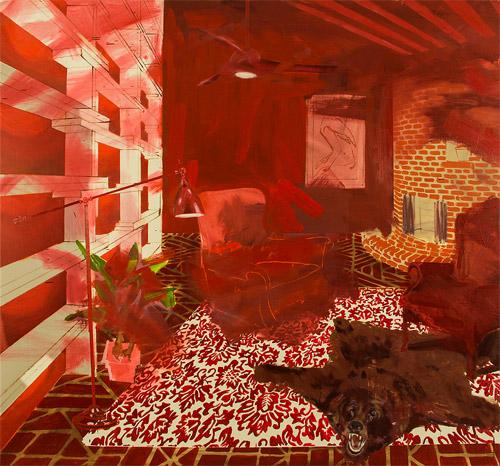 Artist painter Daniel Bohman