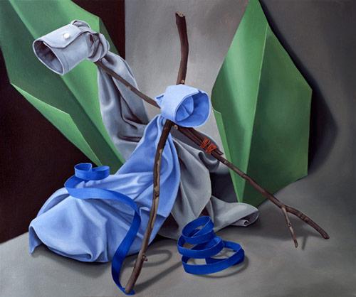 Artist painter Danny Balgley
