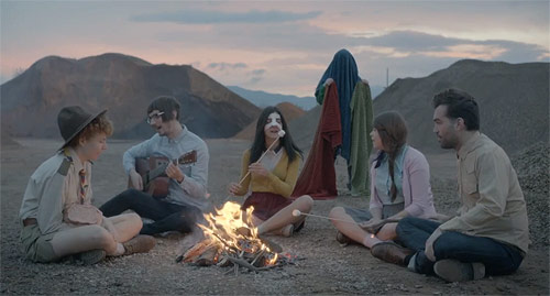 Efterklang The Ghost music video directed by Victor Carrey