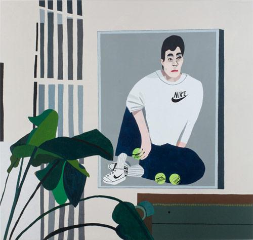 Artist painter Jonas Wood