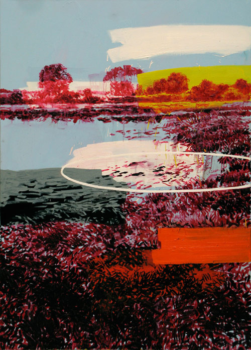 Artist painter Nicolas Kuligowski