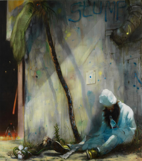 Artist painter Nigel Cooke