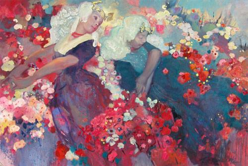 Paintings by artist Svetlana Tiourina