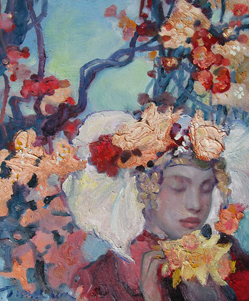 Paintings by artist Svetlana Tiourina