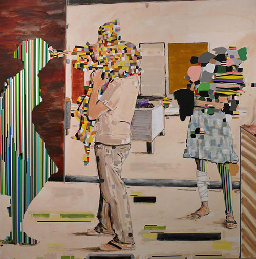 painter Matthew Bourbon