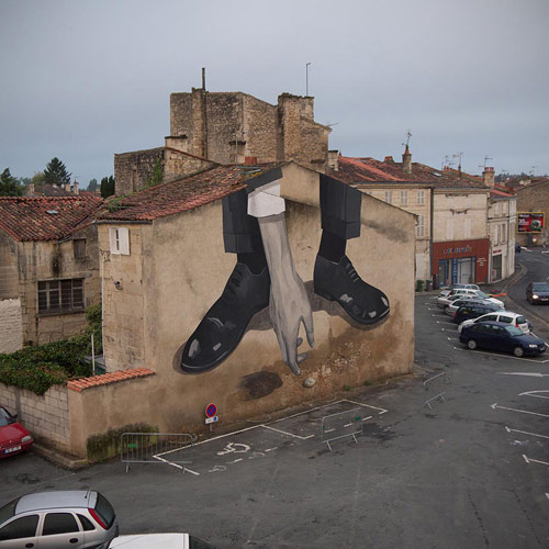 street paintings by artist escif