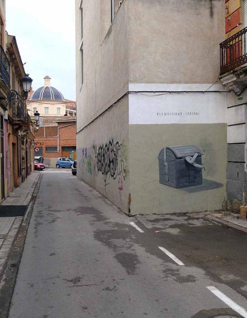 street paintings by artist escif