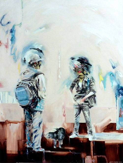 Artist painter Mike Carr