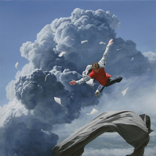 Artist painter Joel Rea