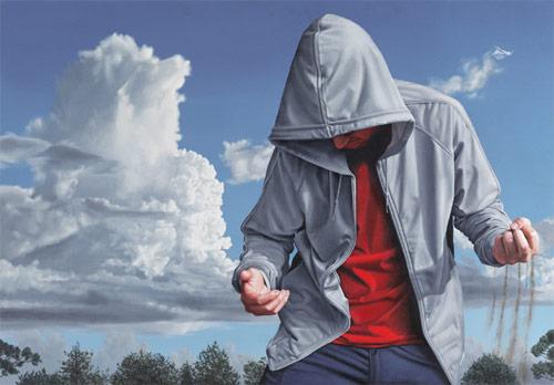 Artist painter Joel Rea