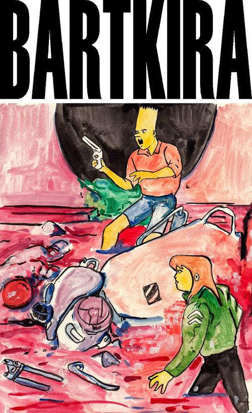 The Simpsons + Akira = Bartkira community project