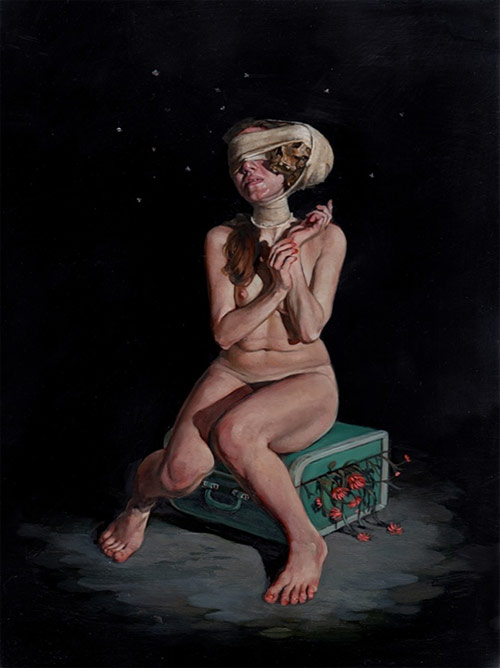 Artist painter Erik Thor Sandberg