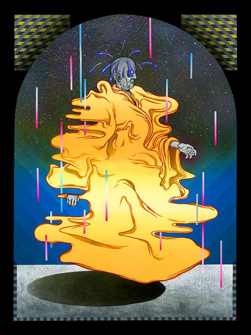 paintings by artist Jesse Fillingham