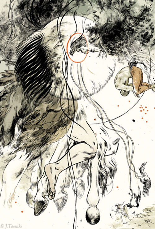 illustrations by Jillian Tamaki