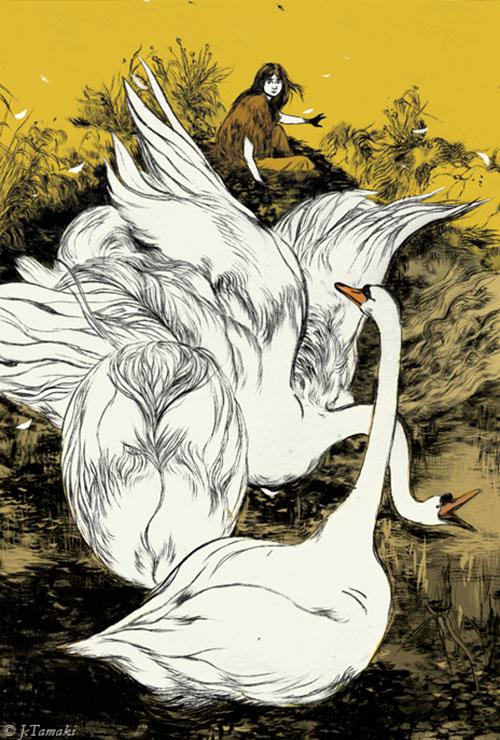 illustrations by Jillian Tamaki