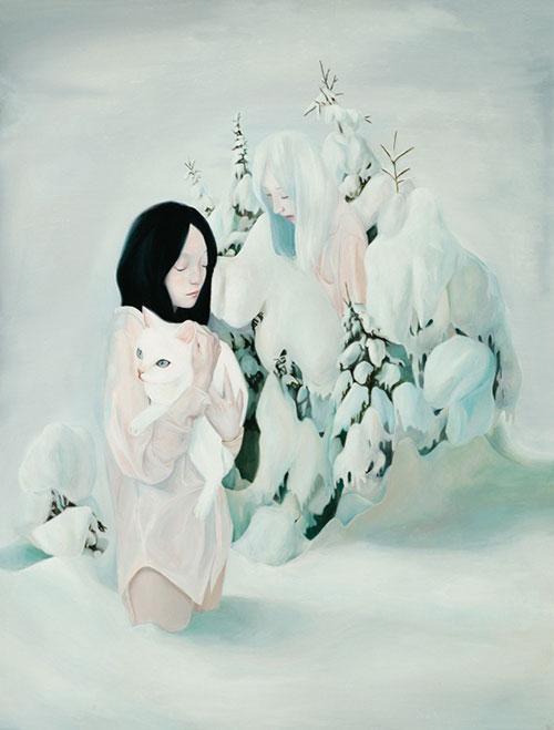 paintings by artist joanne nam