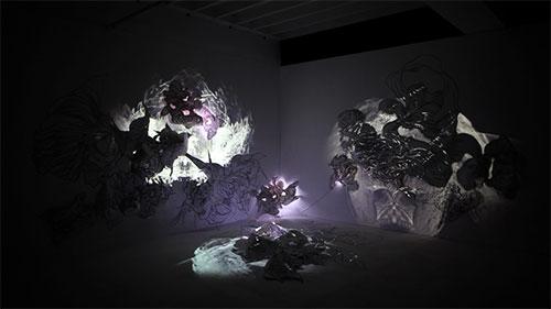 Chiaroscuro by artist Sougwen Chung