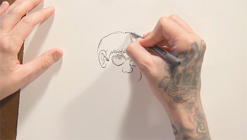 Drawing Stories with Travis Millard