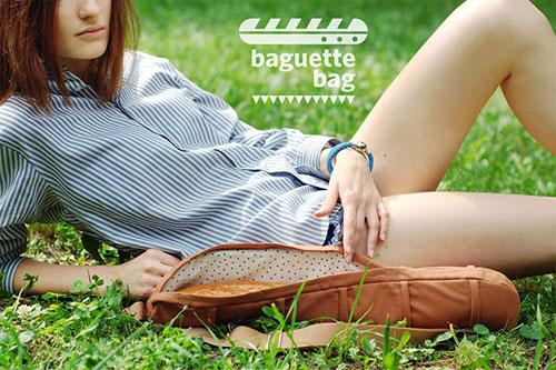 baguette bag by cyan