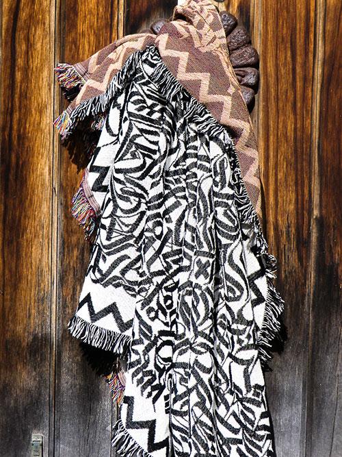 Calligraphy Blanket by Drury Brennan