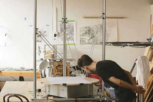 Robot Art: Harvey Moon's Drawing Machines