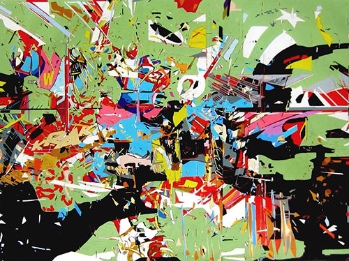 paintings by Ruben Nieto comic fine art