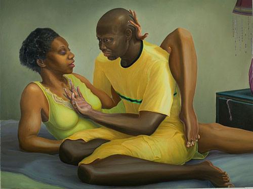 Artist painter Aaron J. Gilbert