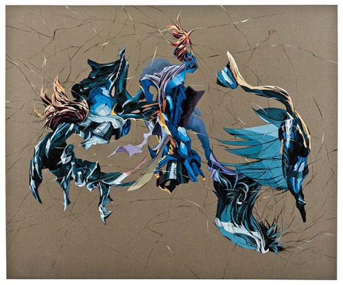 Artist painter Aaron Noble
