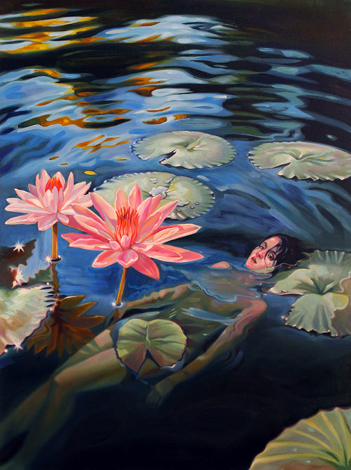 Paintings by Amelia Alcock-White