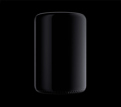 A shiny black cylinder: The New Apple Mac Pro