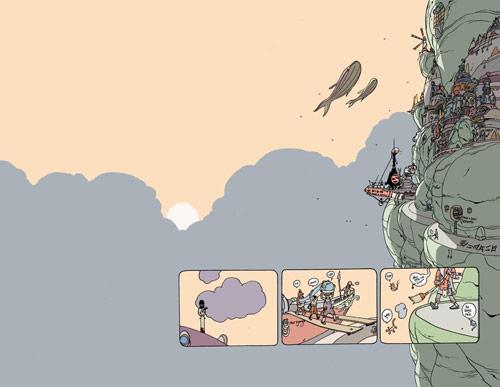 Comic artist Brandon Graham
