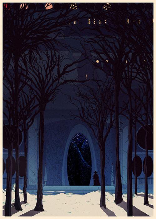 Artist illustrator Kilian Eng