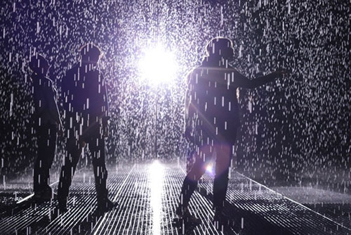 rain room by random international at moma