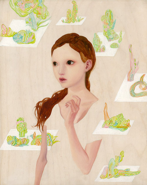 paintings by So Youn Lee