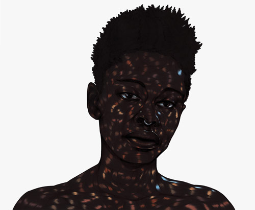 Artist painter Toyin Odutola