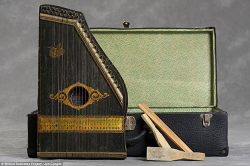 Willard Psychiatric Center Suitcases by Jon Crispin