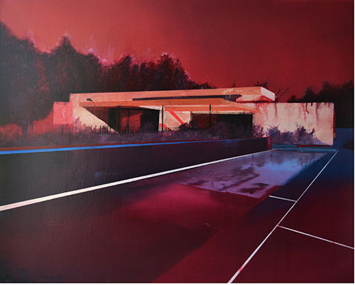 paintings by artist Laurence Jones