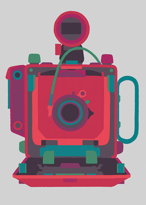 """Basilicas"" – print series by Adrian Johnson celebrates classic cameras – BOOOOOOOM! – CREATE * INSPIRE * COMMUNITY * ART * DESIGN * MUSIC * FILM * PHOTO * PROJECTS"
