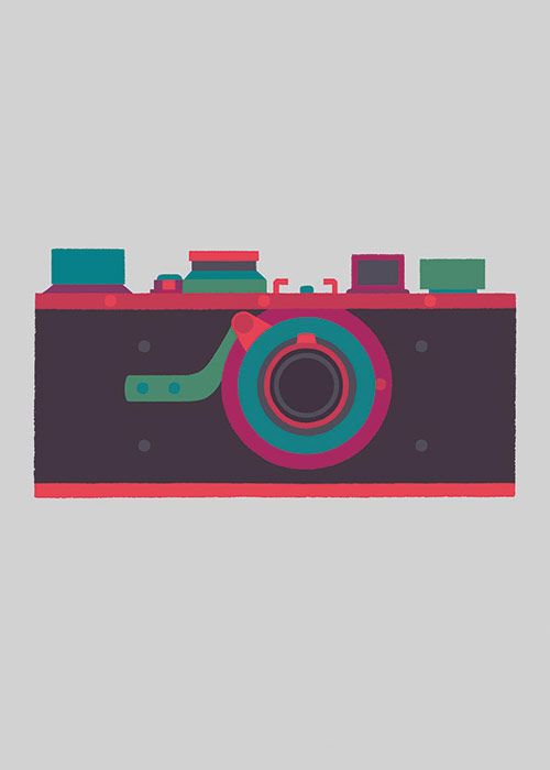 Basilicas - print series by Adrian Johnson celebrates classic cameras