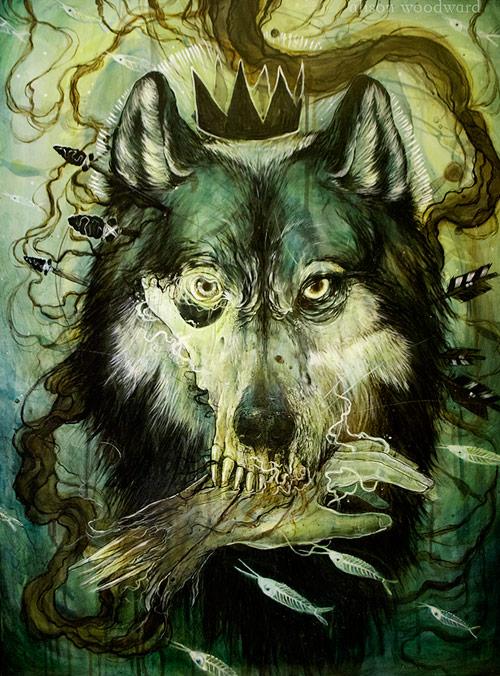Artist illustrator Alison Ann Woodward