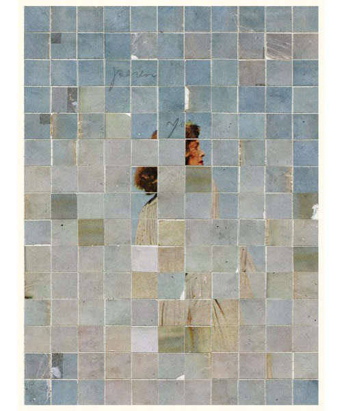 Collages by artist Anthony Gerace