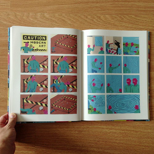 Brecht Vandenbroucke white cube book