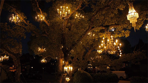 Chandelier Tree by Adam Tenenbaum