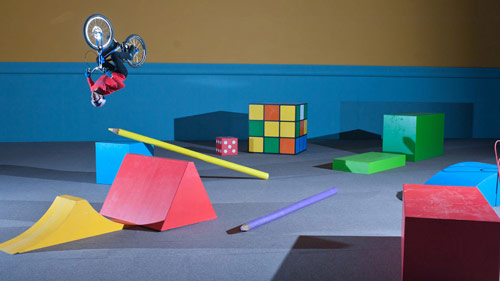 Danny MacAskill's Imaginate bike video brings kid's toys to life