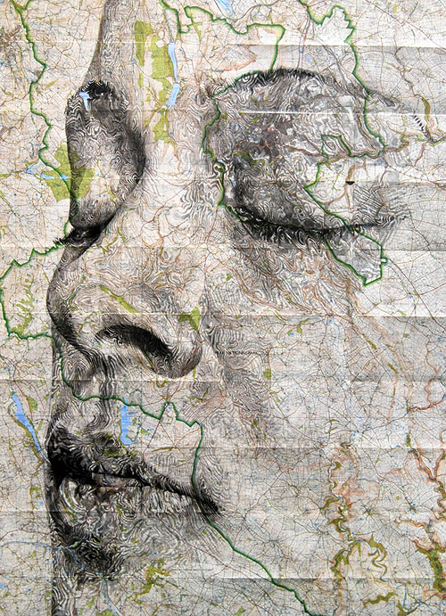 Incredible Map Drawings by Artist Ed Fairburn – BOOOOOOOM! – CREATE * INSPIRE * COMMUNITY * ART * DESIGN * MUSIC * FILM * PHOTO * PROJECTS