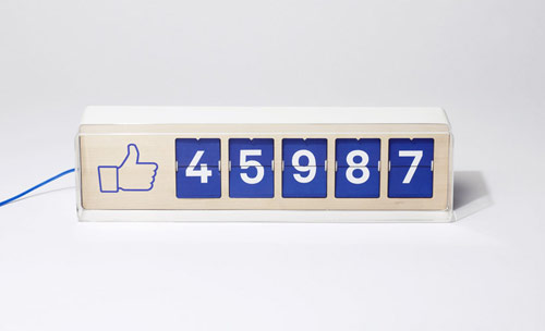 fliike Real-Time Facebook Like Counter By Smiirl