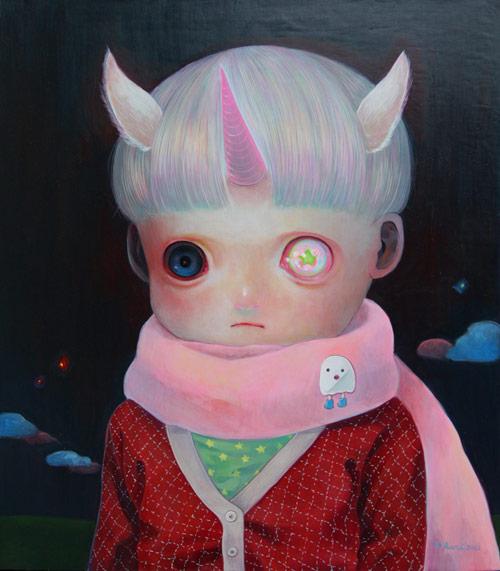 Hikari Shimoda artist painter