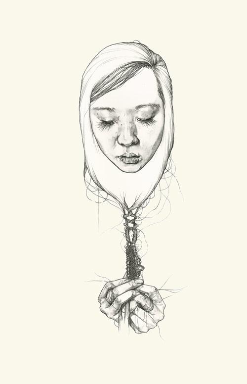 Artist illustrator Haejung Lee