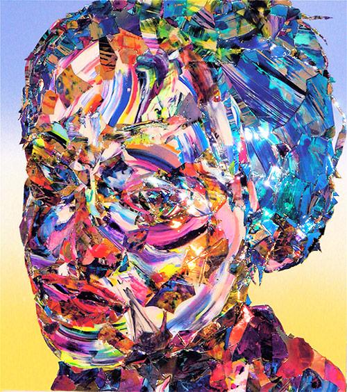 Artist painter Meguru Yamaguchi